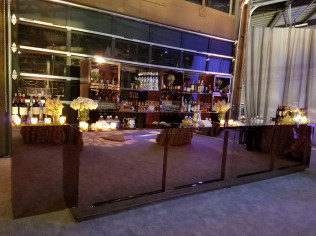 Bar & Back Bar Arrangement 16 Foot       5 – 8 Foot Sections Available. Makes Up To 40 Feet of Bar    <br/>   *Please Call For Pricing